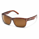 Suncloud Injection Dashboard Tortoise Polarized Brown Sunglasses