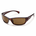 Suncloud Injection Hook Havana Polarized Brown Sunglasses