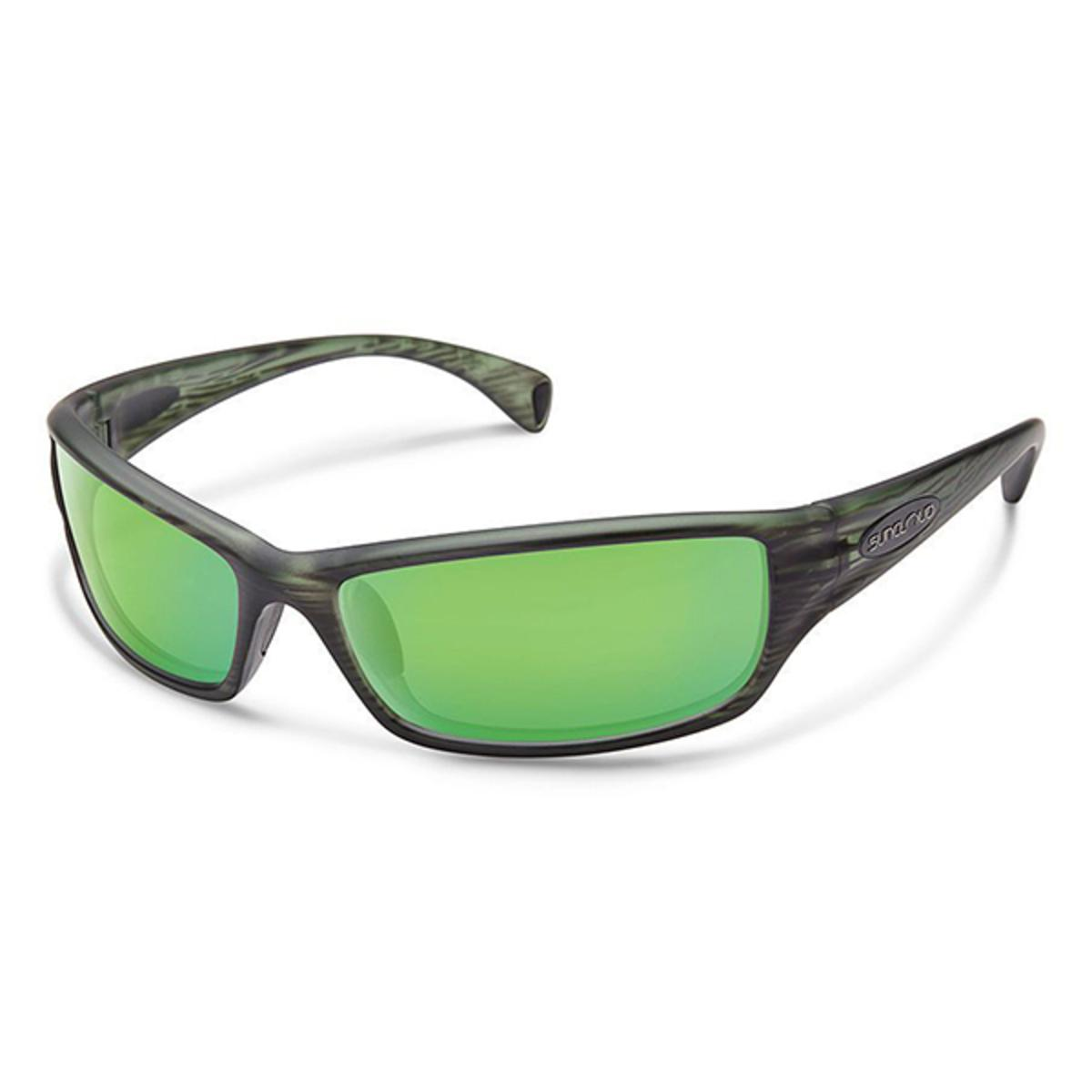 NEW Suncloud Mayor Injection Sunglasses Green Mirror Lens Tortoise Frame