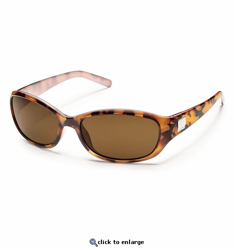Suncloud Injection Iris Tortoise Backpaint Polarized Brown Sunglasses