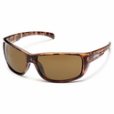 Suncloud Injection Milestone Matte Tortoise Polarized Brown Sunglasses