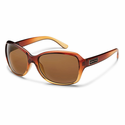 Suncloud Injection Mosaic Brown Fade Polarized Brown Sunglasses