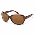 Suncloud Injection Mosaic Tortoise Polarized Brown Sunglasses