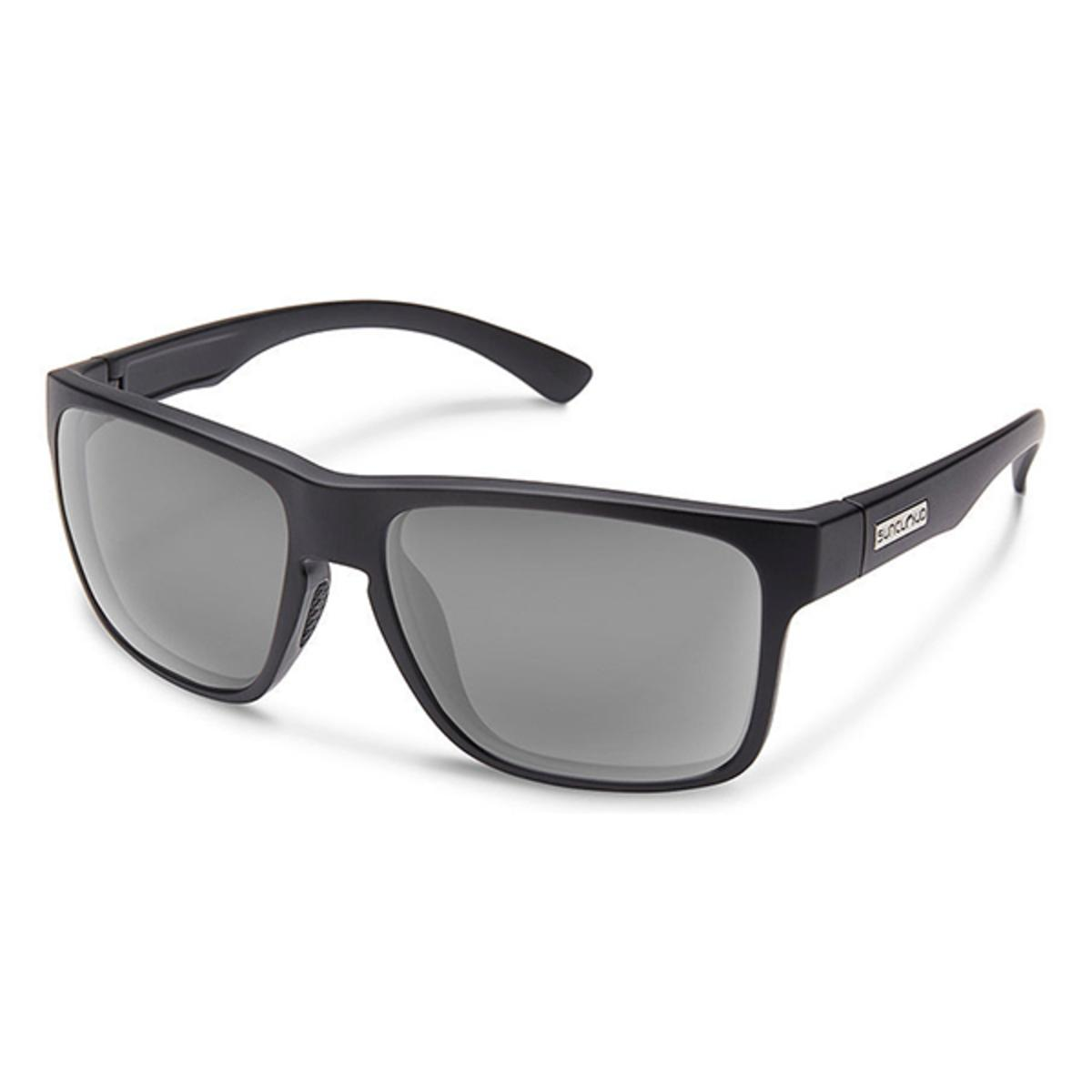 31cffc1511f Suncloud Injection Rambler Matte Black Polarized Gray Sunglasses - The  Warming Store