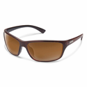 Suncloud Injection Sentry Burnished Brown Polarized Brown Sunglasses