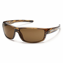 Suncloud Injection Voucher Brown Stripe Polarized Brown Sunglasses