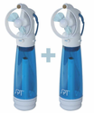 Sunpentown Personal Handheld Misting Fan- Set of 2