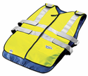 TechKewl ANSI Class II Compliant Hi-Viz Phase Change Cooling Vest