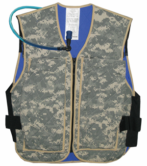 Techniche Hybrid Cooling Military Vest With Hydration