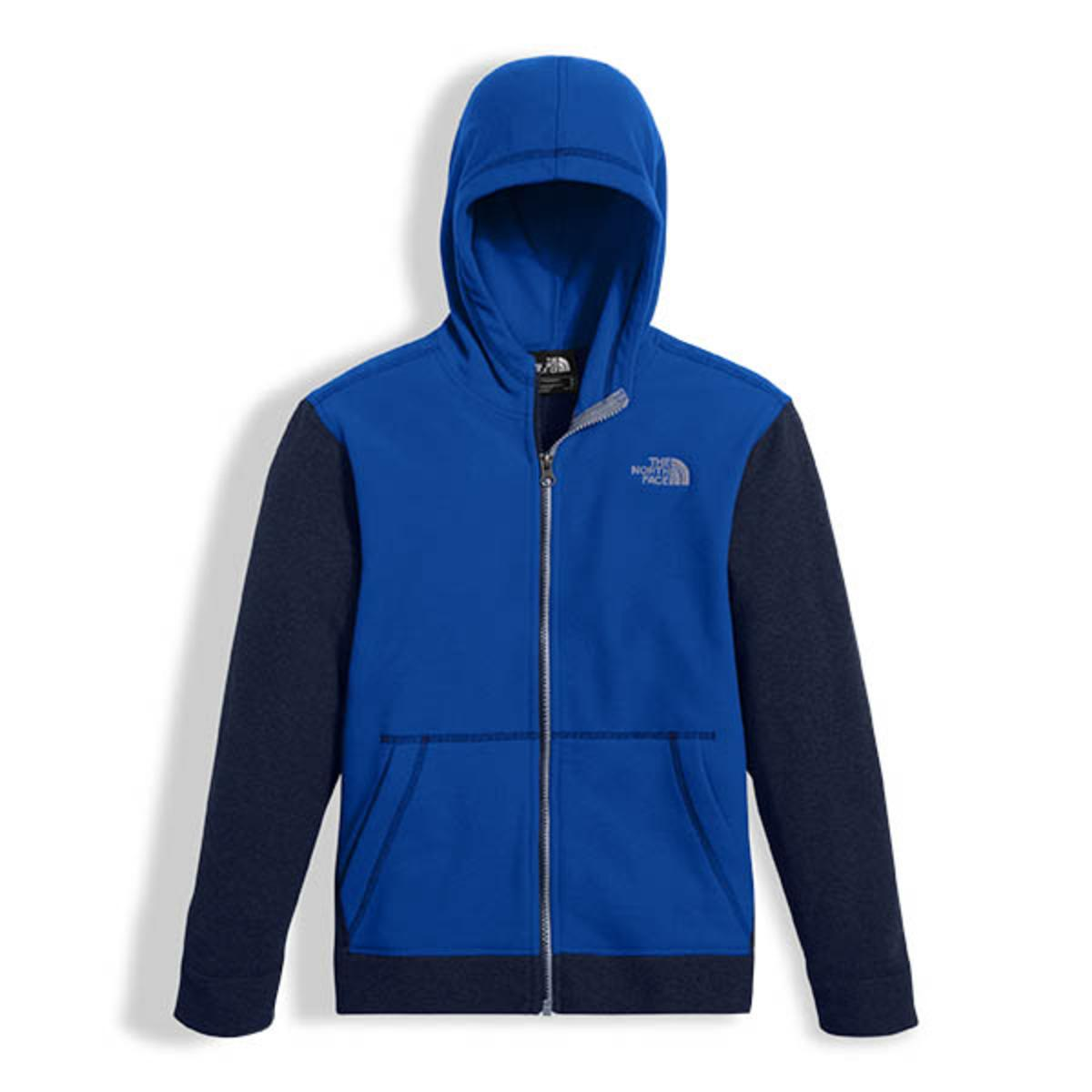 80154bf07 The North Face Boys Glacier Full Zip Hoodie - The Warming Store