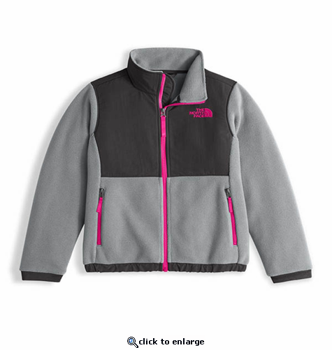 cdf57e1a2e66 The North Face Girls Denali Jacket - The Warming Store