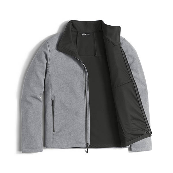 e48e8e7dbf8c The North Face Men s Apex Bionic 2 Jacket - Medium Grey Heather Medium Grey  Heather - The Warming Store