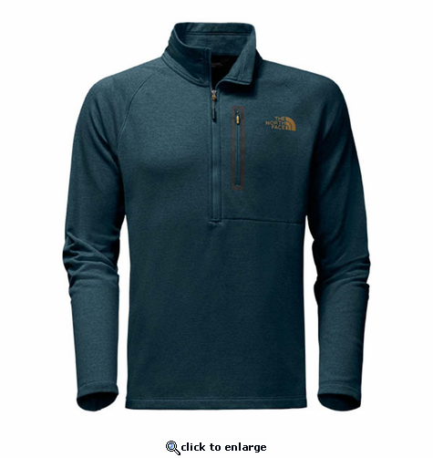 The North Face Men's Canyonlands 1/2 Zip - Kodiak Blue Heather