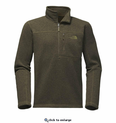 The North Face Men's Gordon Lyons 1/4 Zip - New Taupe Green Heather
