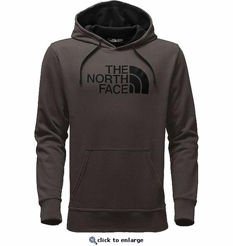 The North Face Men's Half Dome Hoodie - Falcon Brown/Black