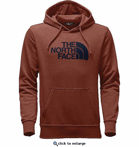 The North Face Men's Half Dome Hoodie - Ketchup Red Heather/Urban Navy