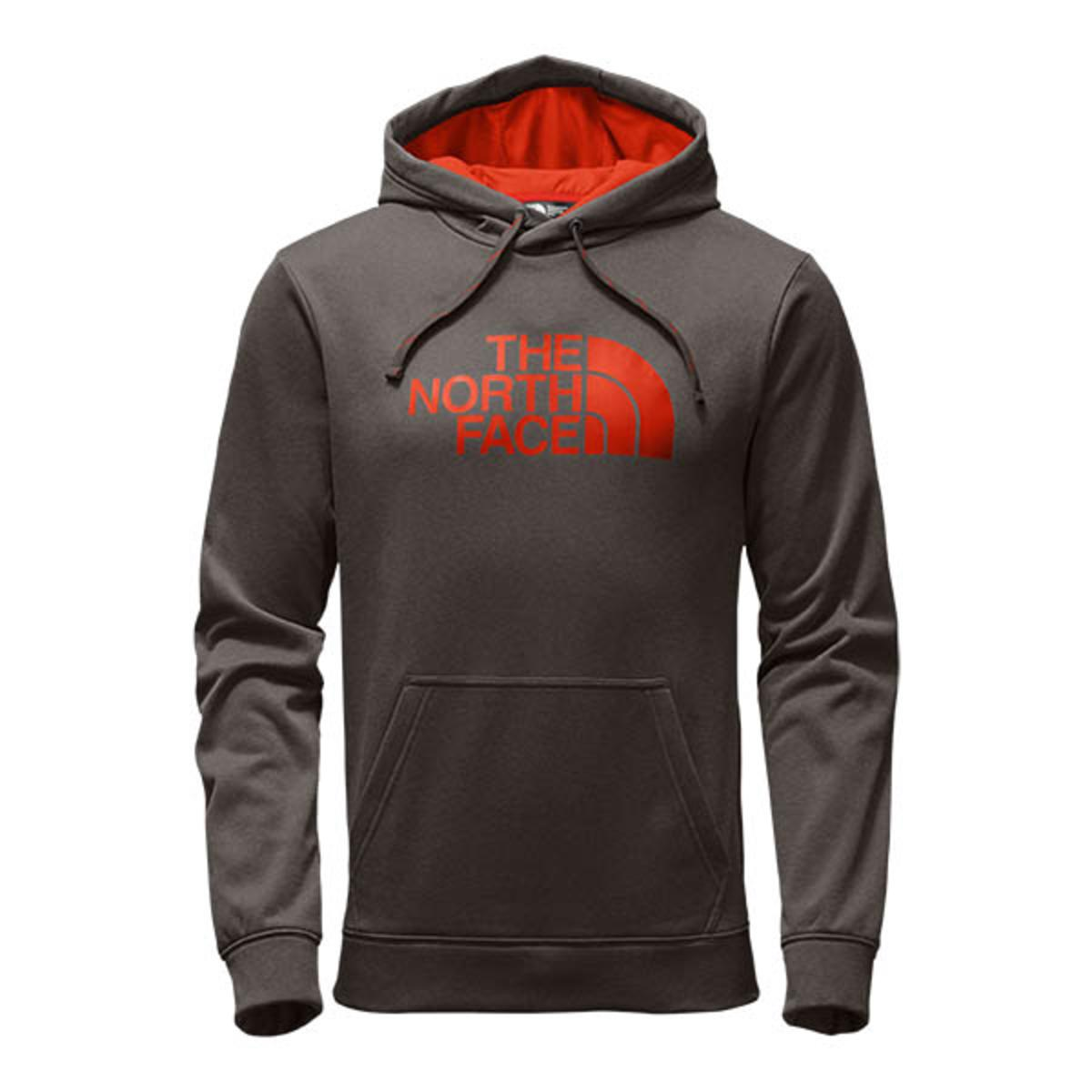 69bd88fc8a3a The North Face Men s Surgent Half Dome Hoodie - Falcon Brown Heather Acrylic  Orange