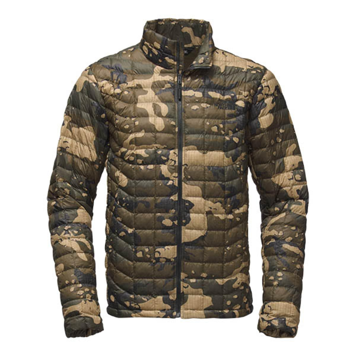 b7036f16358b ... order the north face mens thermoball jacket burnt olive green woodchip  camo print the warming store