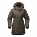 The North Face Women's Arctic Parka II Jacket - New Taupe Green