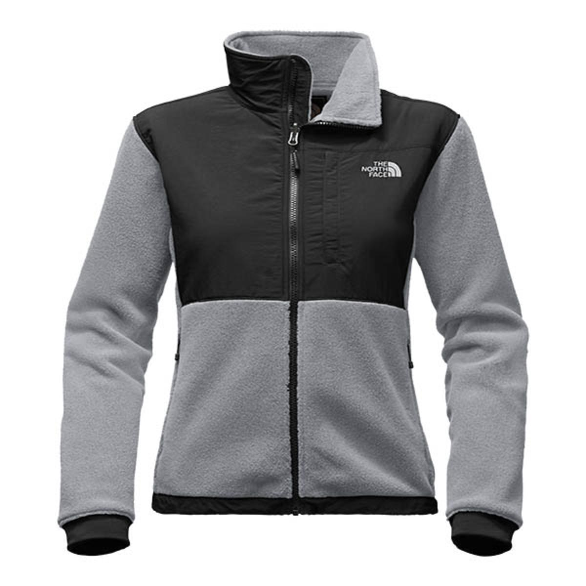 077b90ae485 The North Face Women s Denali 2 Jacket - Medium Grey Heather Black ...