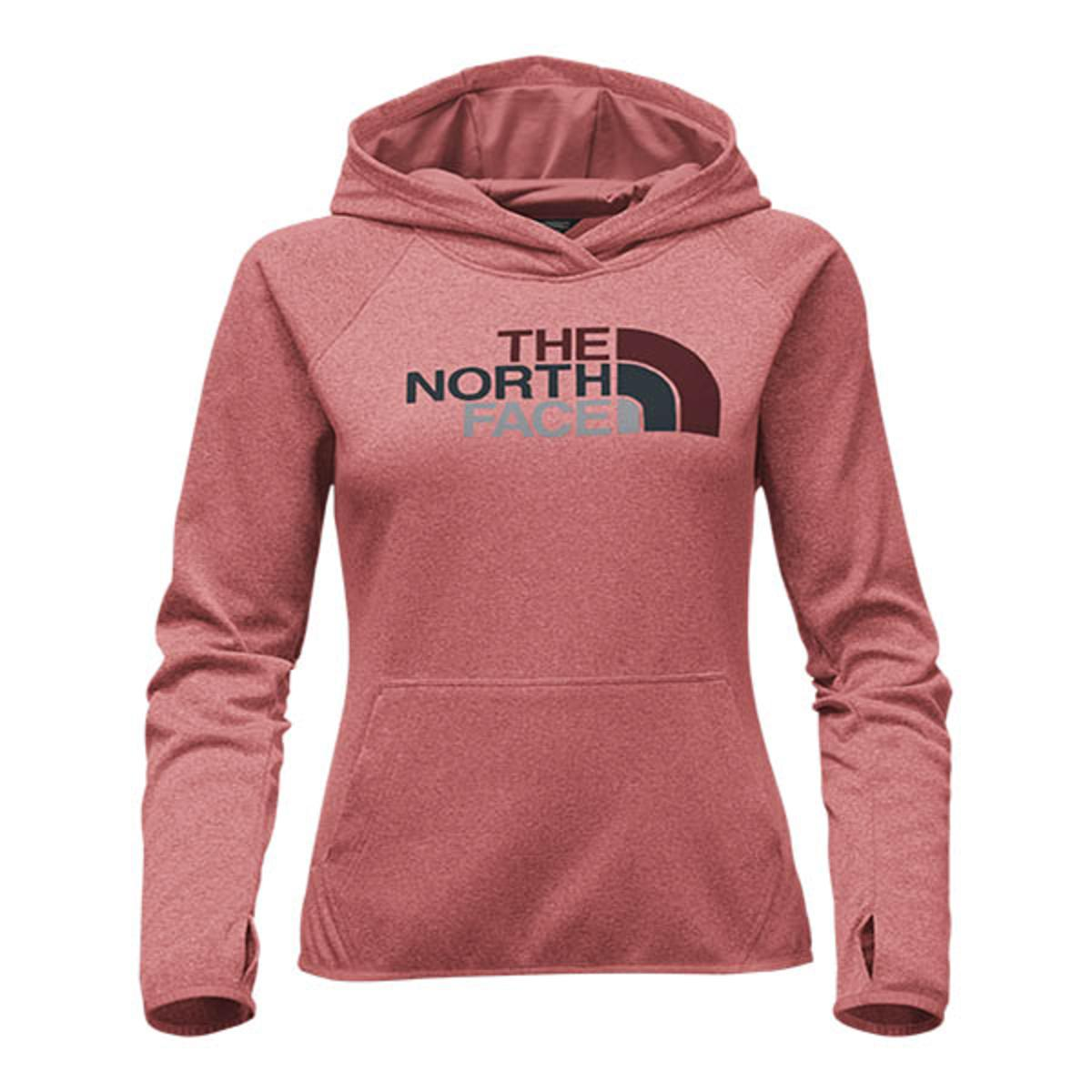 4ff3ecb79737 The North Face Women s Fave Half Dome Pull-Over Hoodie - Faded Rose Heather Barolo  Red Multi - The Warming Store