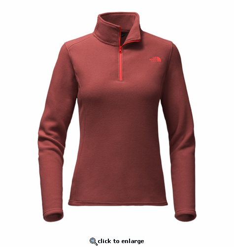 The North Face Women's Glacier 1/4 Zip - Barolo Red