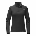 The North Face Women's Glacier 1/4 Zip - Black