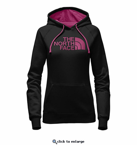 The North Face Women's Half Dome Hoodie - Black/Petticoat Pink