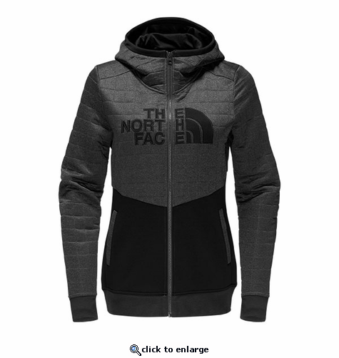 The North Face Women's Half Dome Quilted Full Zip Hoodie