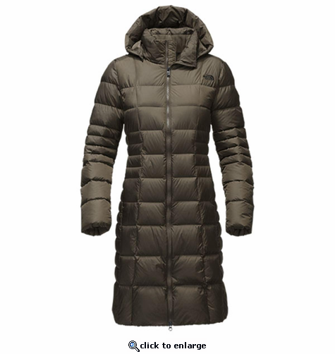 The North Face Women's Metropolis Parka II Jacket - New Taupe Green