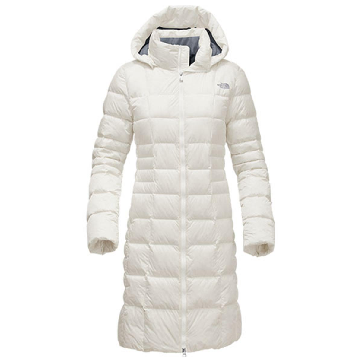 The North Face Women s Metropolis Parka II Jacket - Vintage White - The  Warming Store 47f26674c