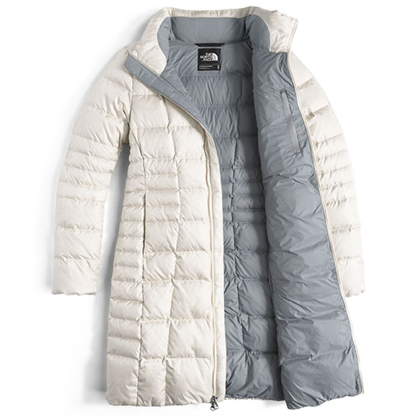 ec12fdafc6 The North Face Women s Metropolis Parka II Jacket - Vintage White - The  Warming Store