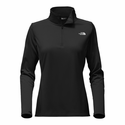The North Face Women's Tech Glacier 1/4 Zip - Black