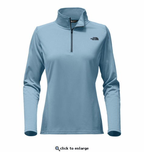 The North Face Women's Tech Glacier 1/4 Zip - Provincial Blue
