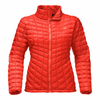 The North Face Women's Thermoball Full Zip - Fire Brick Red