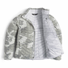 The North Face Women's Thermoball Full Zip - White Woodchhip Print