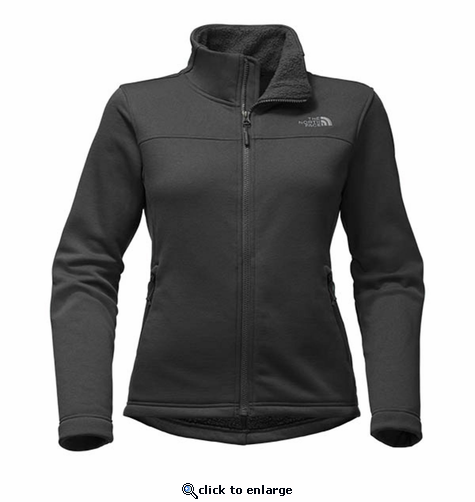 The North Face Women's Timber Full Zip - Black