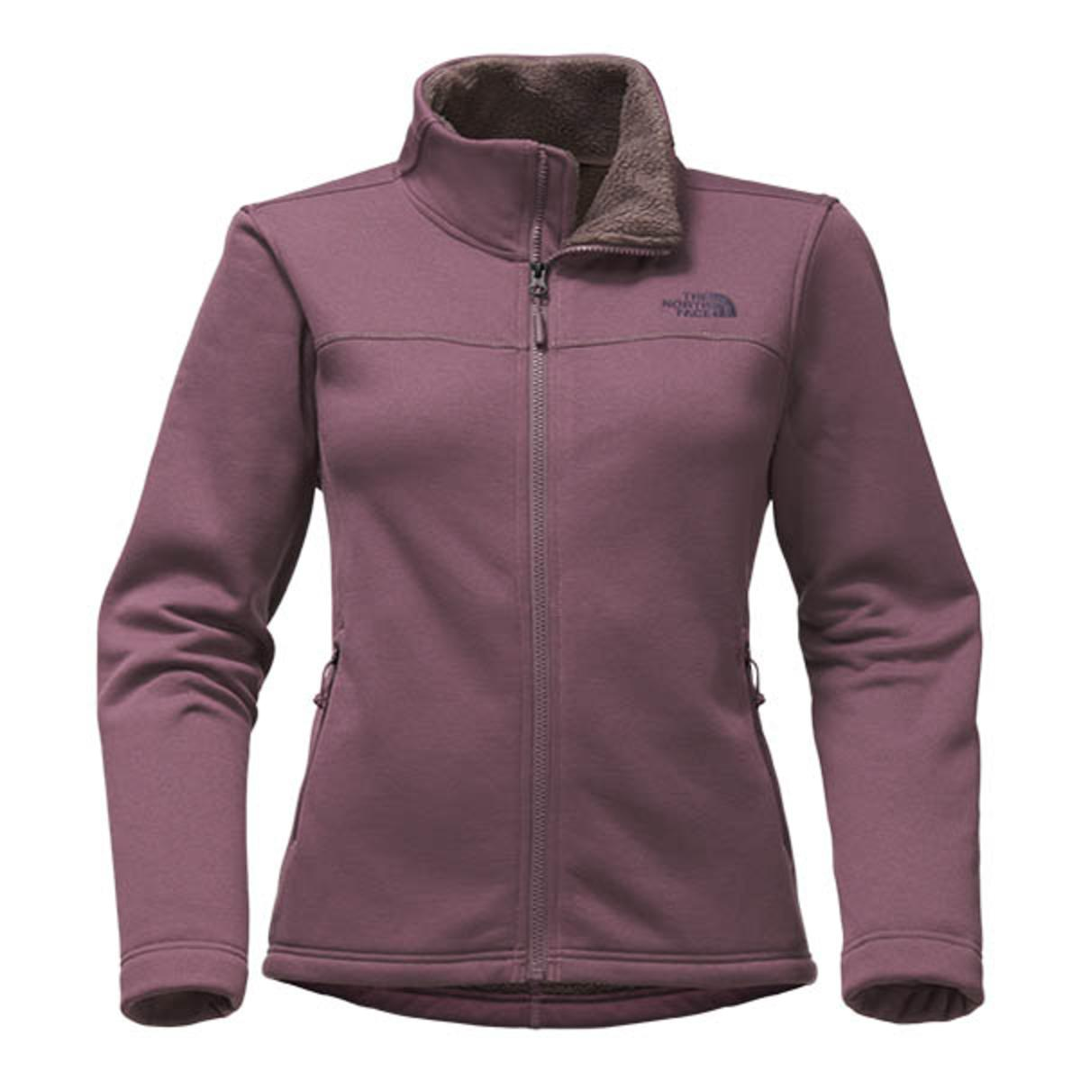 The North Face Women s Timber Full Zip - Black Plum - The Warming Store ecdeaa1bd