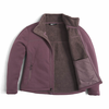 The North Face Women's Timber Full Zip - Black Plum