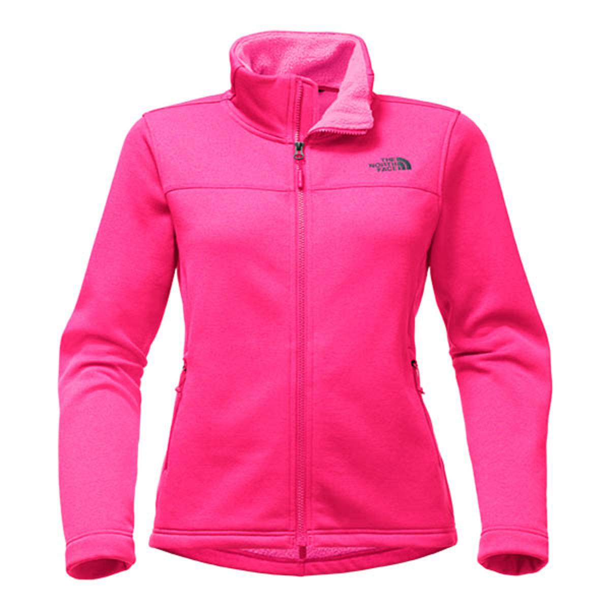 The North Face Women s Timber Full Zip - Petticoat Pink Heather - The  Warming Store 64238af0f