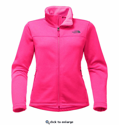 The North Face Women's Timber Full Zip - Petticoat Pink Heather