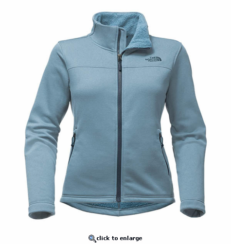 The North Face Women's Timber Full Zip - Provincial Blue
