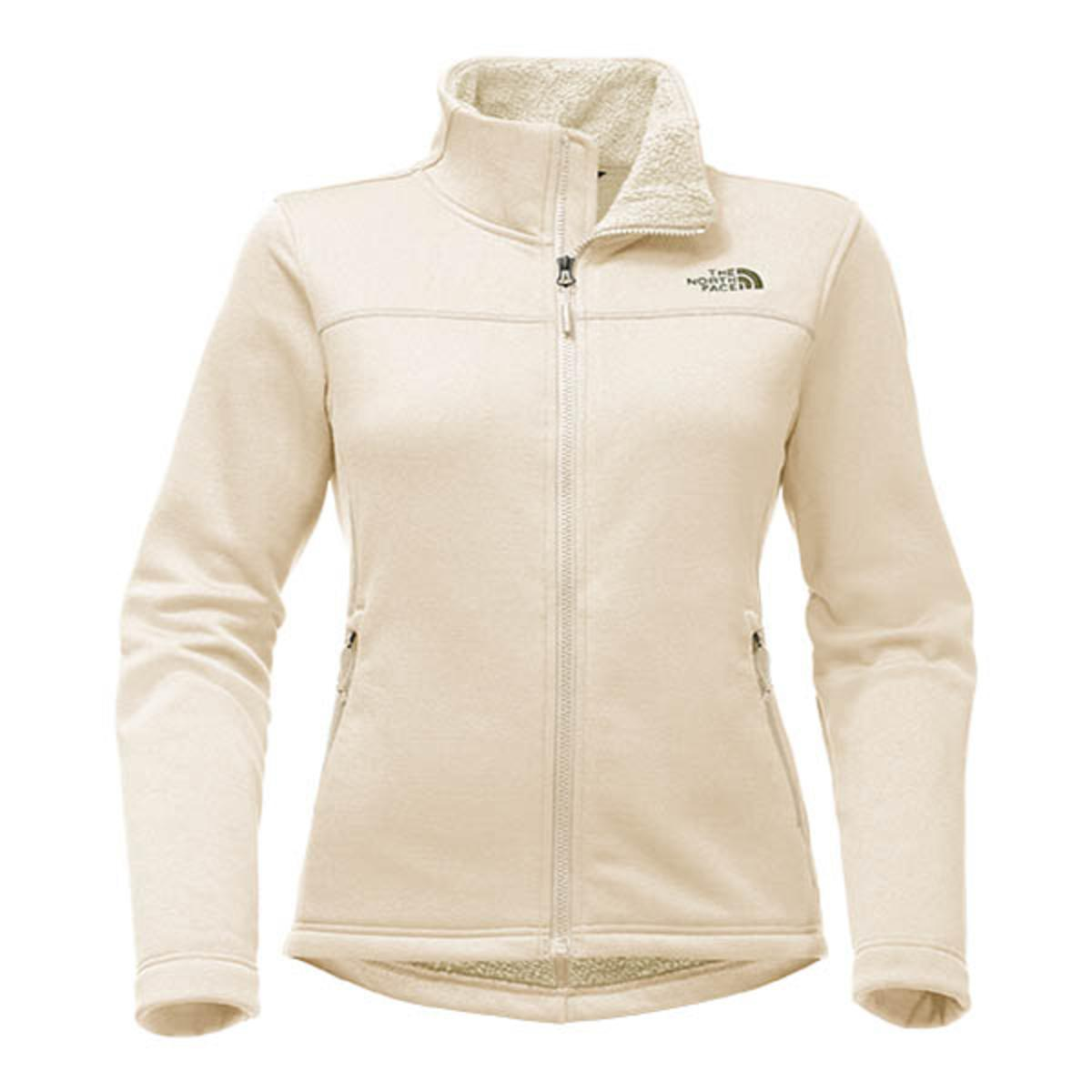 2866ed29c21b The North Face Women s Timber Full Zip - Vintage White - The Warming ...