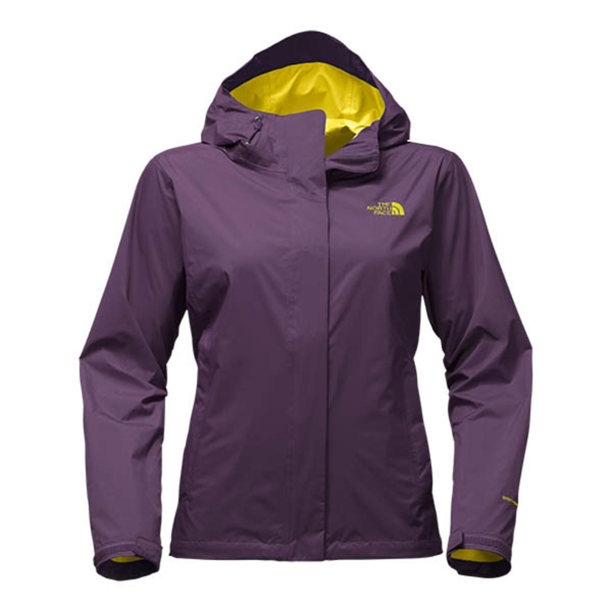 Women's north face venture 2 jacket purple small NWT