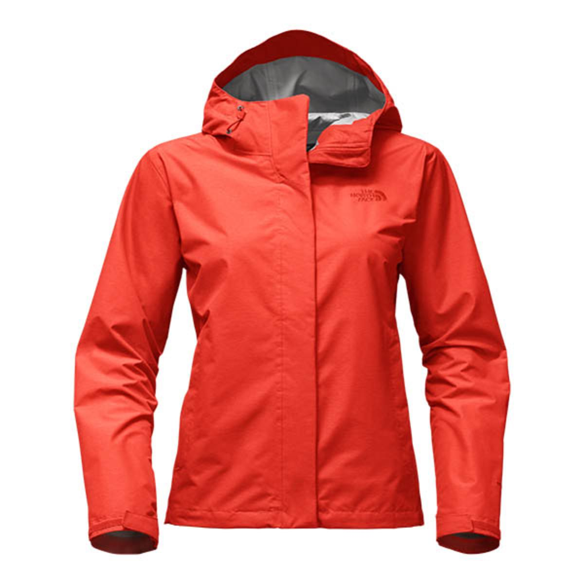 The North Face Women S Venture 2 Jacket Fire Brick Red Heather