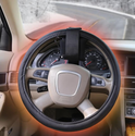 Thermo Heated Steering Wheel Cover with Battery Pack