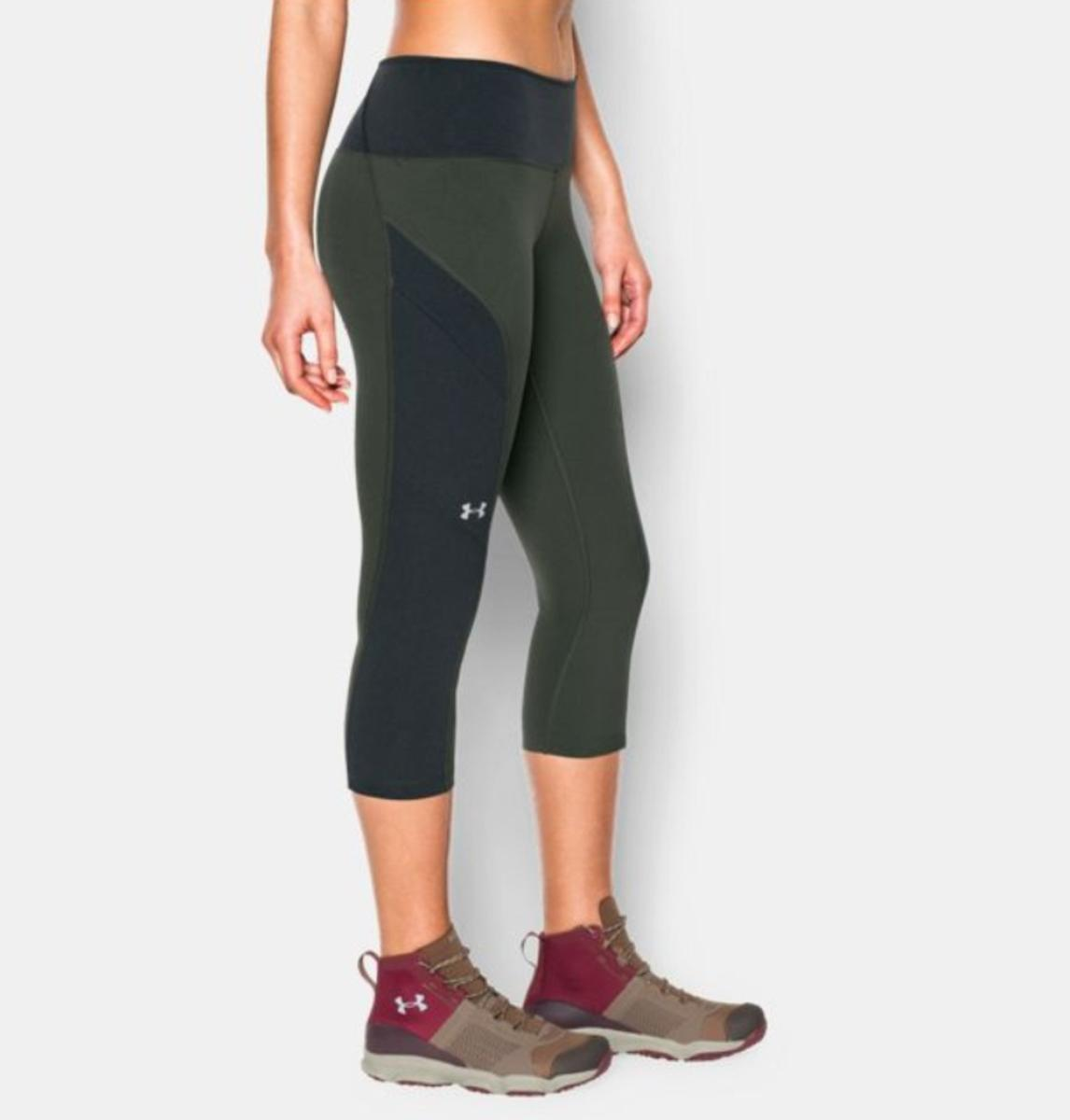 51f81c2a6dd9dd Under Armour Women's UA ArmourVent Trail Capri - The Warming Store