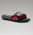Under Armour Men's UA Ignite Slides - Black/Red