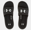 Under Armour Men's UA Ignite Slides - Black/Black/White