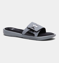 Under Armour Men's UA Ignite Slides - Steel/Black/Metallic Silver